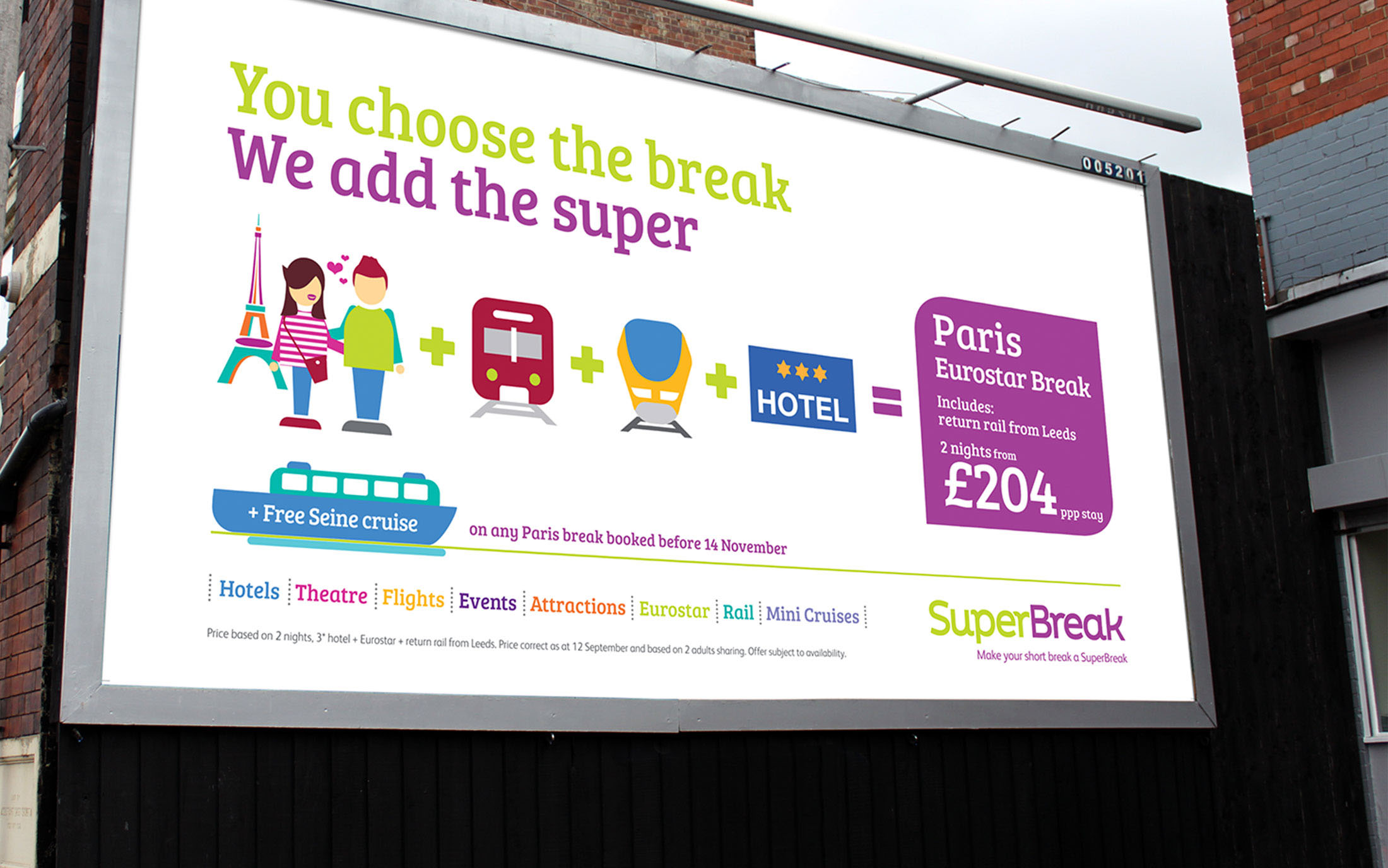 Superbreak billboard