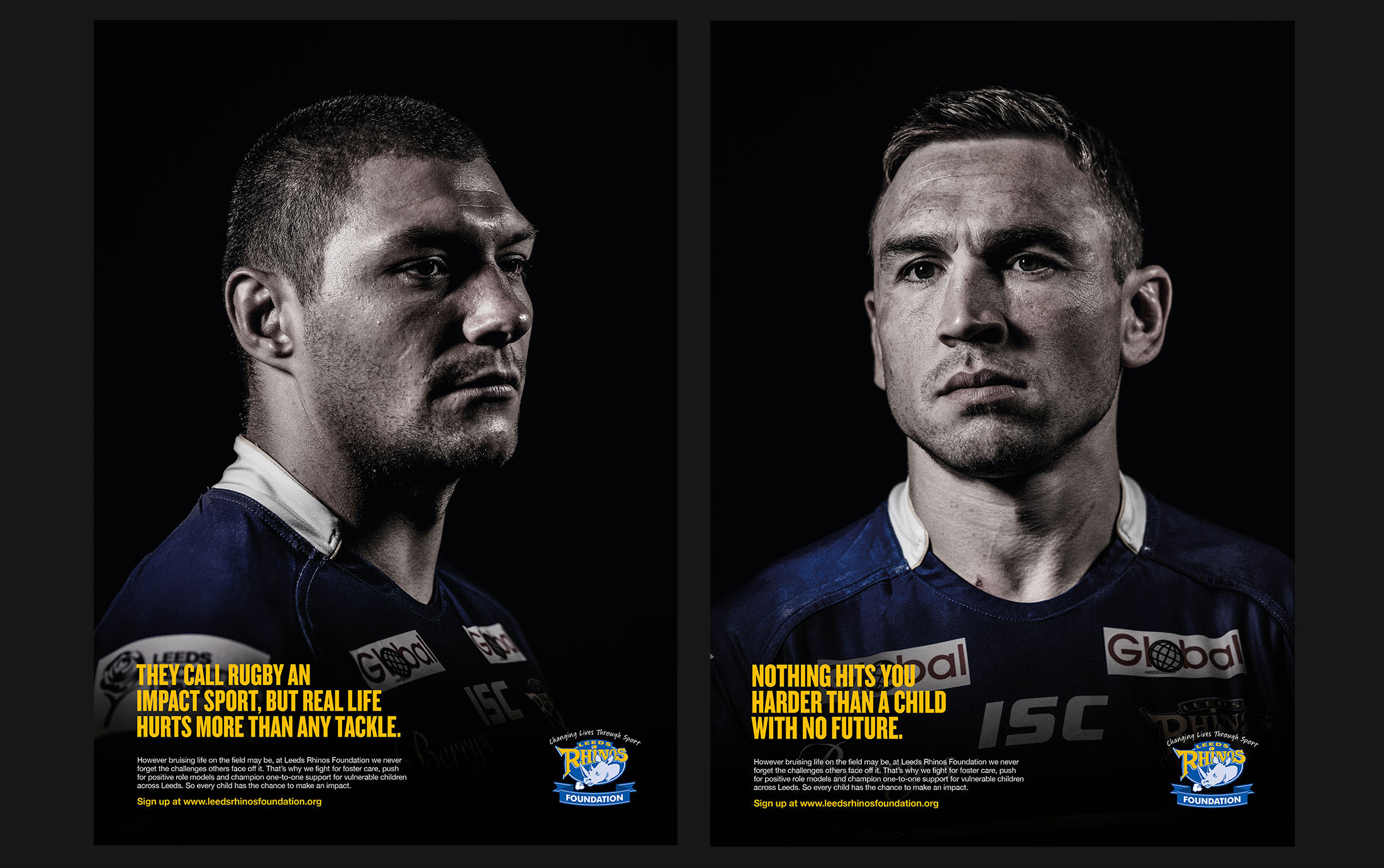 Leeds Rhinos Foundation poster